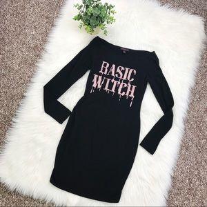 Material Girl Basic Witch Halloween Dress Medium